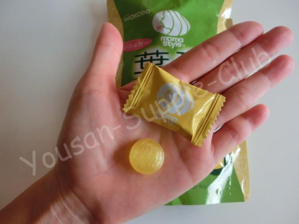 ママスタイル葉酸キャンディレモン味の中身